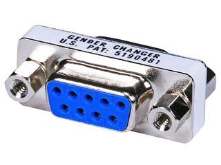Product Image for DB9 F/F, Mini Gender Changer