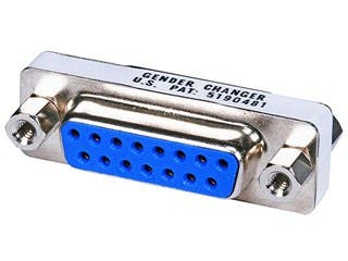 Product Image for DB15 F/F,Mini Gender Changer