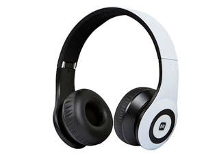 Product Image for Bluetooth® On-the-Ear Headphones with Built-in Microphone-White