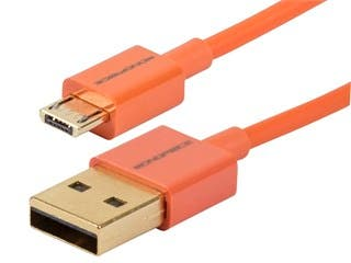 Product Image for Premium USB to Micro USB Charge & Sync Cable 3ft - Orange