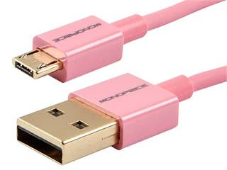 Product Image for Premium USB to Micro USB Charge & Sync Cable 1.5ft - Pink