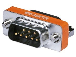 Product Image for DB9, M/M, Null Modem Mini Type
