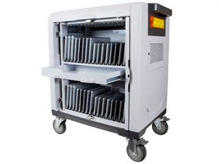 Product Image for 32 Bay Tablet Locking Storage Cabinet - Charge/Sync