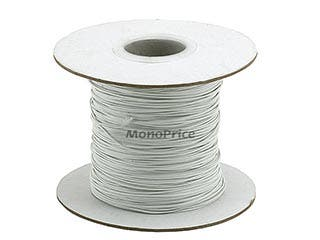 Product Image for Wire Cable Tie 290M/Reel - White