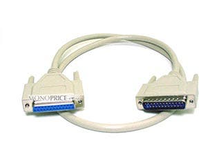 Product Image for 3ft DB25 M/F Molded Cable
