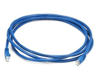 Product Image for Cat6 24AWG UTP Ethernet Network Patch Cable, 7ft Blue