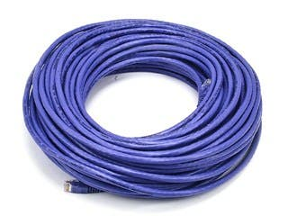 Product Image for Cat6 24AWG UTP Ethernet Network Patch Cable, 100ft Purple