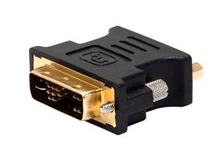 Product Image for DVI-A Dual Link Male to HD15(VGA) Female Adapter (Gold Plated)