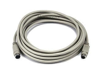 Product Image for 15ft PS/2 MDIN-6 Male to Female Cable