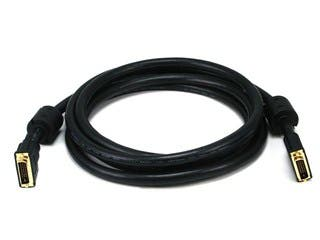 Product Image for 10ft 24AWG CL2 Dual Link DVI-D Cable - Black