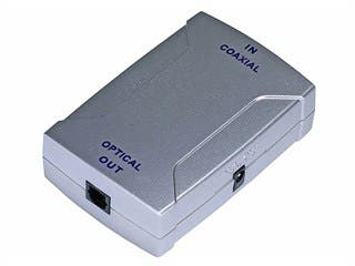 Product Image for Digital Coaxial (RCA) to S/PDIF (Toslink) Digital Optical Audio Converter
