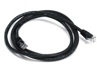 Product Image for Cat5e 24AWG UTP Ethernet Network Patch Cable, 5ft Black