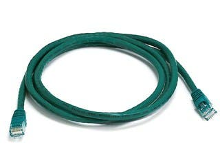 Product Image for Cat5e 24AWG UTP Ethernet Network Patch Cable, 5ft Green