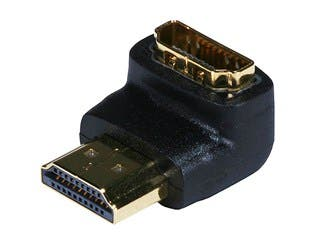 Product Image for HDMI® Port Saver (Male to Female) - 90 Degree