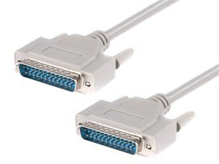 Product Image for IEEE 1284 , DB25 , M/M -  6ft