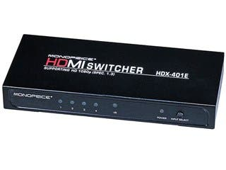 Product Image for 4X1 Enhanced HDMI® Switch w/ Built-In Equalizer & Remote (REV.3.0)