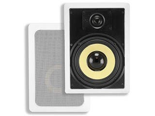 Product Image for 6-1/2 Inch Fiber 2-Way In-Wall Speakers (Pair), 60W Nominal, 120W Max