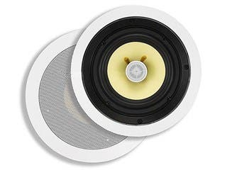 Product Image for 6-1/2 Inch Fiber 2-Way In-Ceiling Speakers (Pair), 60W Nominal, 120W Max
