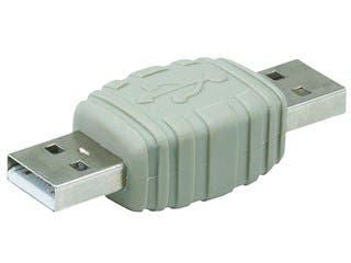 Product Image for USB 2.0 A Male to A Male Gender Changer Adapter