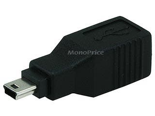 Product Image for USB 2.0 B Female to Mini 5 pin (B5) Male Adapter