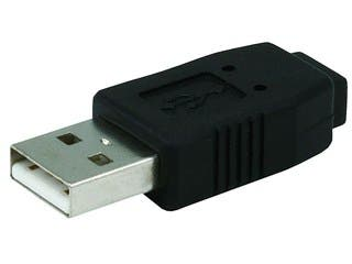 Product Image for USB 2.0 A Male to Mini 5 pin (B5) Female Adapter