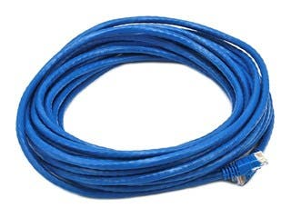 Product Image for Cat6 24AWG UTP Ethernet Network Patch Cable, 30ft Blue