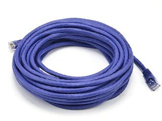Product Image for Cat6 24AWG UTP Ethernet Network Patch Cable, 30ft Purple