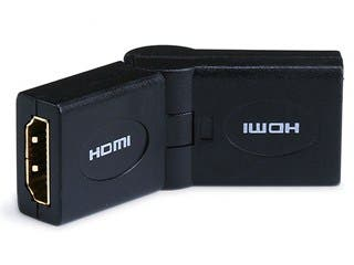 Product Image for HDMI® Coupler (Female to Female) - Swiveling Type