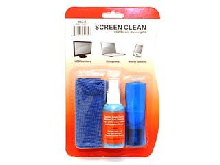 Product Image for Universal Screen Cleaner (Pocket sized w/ brush) for LCD & Plasmas TV, all iPad®, iPhone®, Galaxy Tabs, and smartphones...