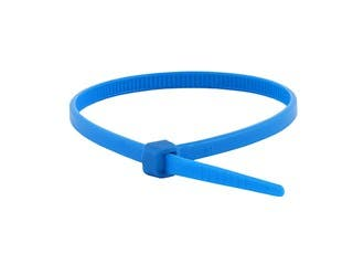Product Image for Cable Tie 4 inch 18LBS, 100pcs/Pack - Blue