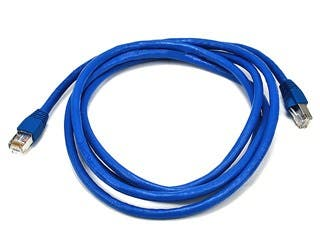 Product Image for Cat6A 24AWG STP Ethernet Network Patch Cable, 7ft Blue