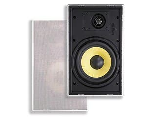 Product Image for Caliber In Wall Speakers 6.5 Inch Fiber Quick-Lock 2-Way In-Wall Speakers (pair)