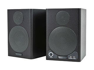 Product Image for 3-inch Powered Portable Monitor Speakers with Protective Grill (pair)