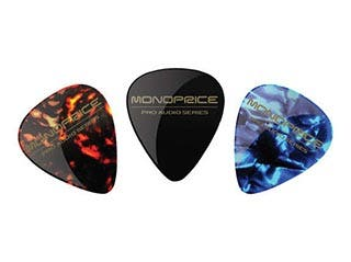 Product Image for Medium Celluloid Guitar Picks - 12 pc - Assorted Colors