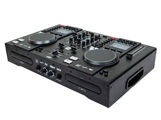 Product Image for All-In-One DJ System with Dual CD & USB Flash Players, FX & MIDI Controller