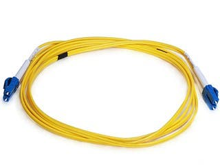 Product Image for Fiber Optic Cable, LC/LC, Single Mode, Duplex - 2 meter (9/125 Type) - Yellow