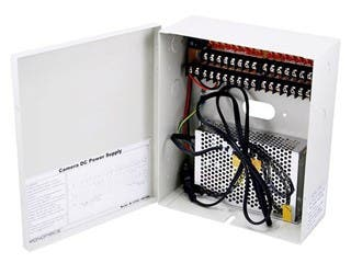 Product Image for 16 Channel CCTV Camera Power Supply - 12VDC - 10Amps