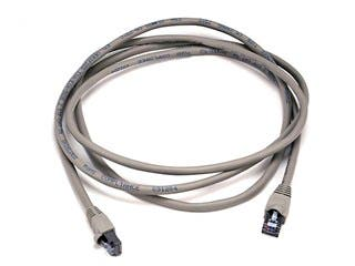 Product Image for Cat5e 24AWG STP Ethernet Network Patch Cable, 7ft Gray