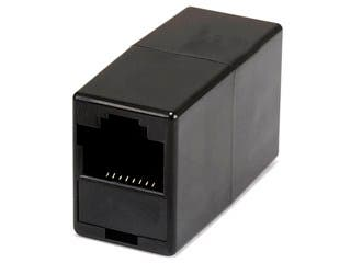 Product Image for Cat5e Crossover Inline Coupler - Black