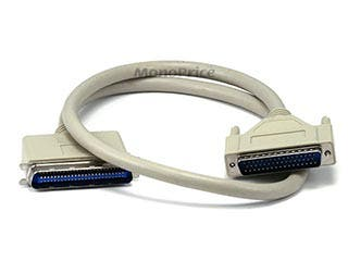 Product Image for DB50 M/CN50 M SCSI Cable , 1:1, Molded - 3ft