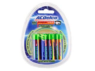 Product Image for ACDelco Insta-Use (Pre-Charged) 2000mAh Ni-MH AA Battery 8-Pack