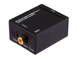 Product Image for Analog to Digital Coaxial and Digital Optical Audio Converter