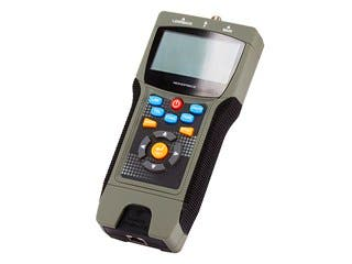 Product Image for Professional Coaxial, RJ-45, and RJ-11/12 Multifunction Tester w/ LCD Display