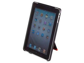 Product Image for Foldable & Rotatable Desktop Stand for iPad® 1 - Black