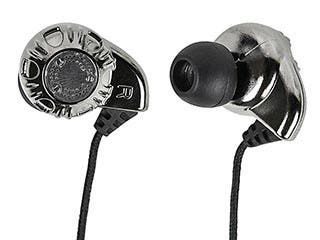 Product Image for Enhanced Bass Hi-Fi Noise Isolating Earphones - Silver