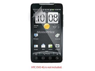 Product Image for Screen Protective Film w/ High Transparency Finish for HTC EVO 4G