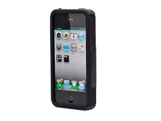 Product Image for Dual Guard PC+Silicone Case for iPhone® 4/4s - Black