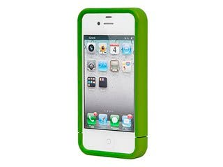 Product Image for Polycarbonate Soft Touch Case for iPhone® 4/4s - Metallic Green