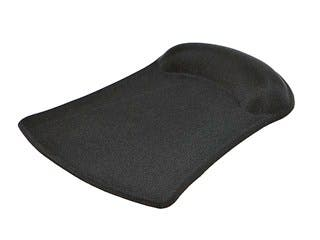 Product Image for Mouse Pad with Gel Wrist Rest - Black