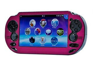 Product Image for PlayStation Vita Brushed Aluminum Clamshell Protective Case - Fuschia